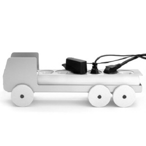 Plug Truck Large- Silver