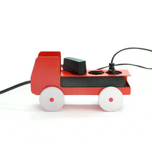 Plug Truck Small - Red