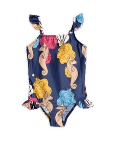 Seahorse Wing swimsuit-navy