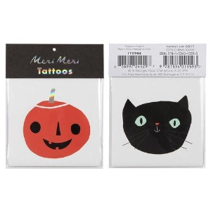 [Meri Meri] 메리메리 / Halloween Pumpkin and Cat Tattoos