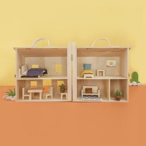 [올리엘라] Holdie House + Holdie furniture 4 pack set