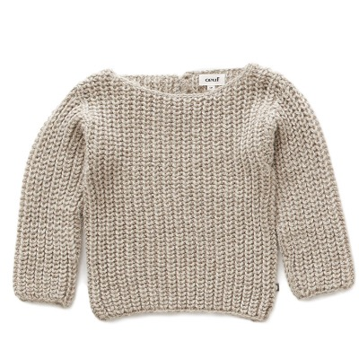 19FW English Sweater(100% baby llama) / grey