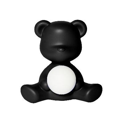 Qeeboo Teddy Girl Lamp Black
