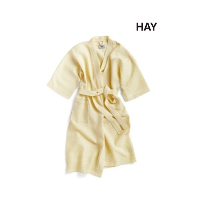 Waffle Bathrobe  Soft Yellow (508303)
