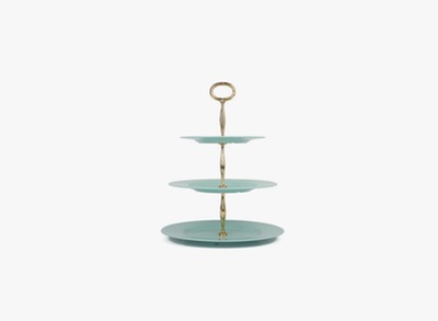 The Living Factory_Cake Stand  Mint