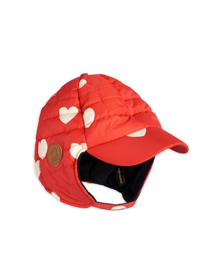 Insulator hearts cap - red