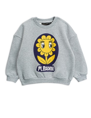 flower sp sweatshirt - grey