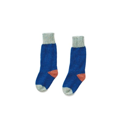 19FW LONG SOCKS  (electric blue/ocean)