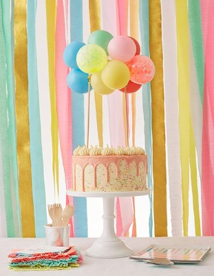[MeriMeri] 메리메리 / RAINBOW BALLOON CAKE TOPPER KIT