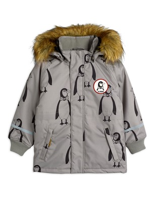 k2 penguin parka - grey